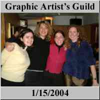 Graphic Artist Guild Party - www.gag.org - NYC