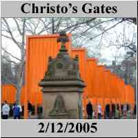 Christo - The Gates - Central Park - NYC